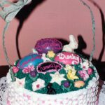 Holiday Seasonal Cake Easter Basket