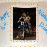 Photo Image Cake Dirtbike