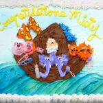 Baby Shower Cake Noah's Ark