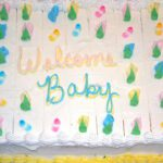 Baby Shower Cake Sheet