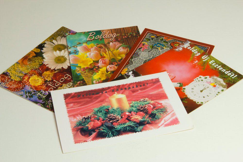 Hungarian Postcard - Dobo's Delights Bakery