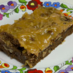 German Chocolate Brownies - Dobo's Delights Bakery
