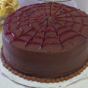 Dark Chocolate Raspberry Torte - Dobo's Delights