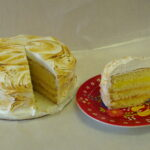 Lemon Meringue Torte - Dobo's Delights
