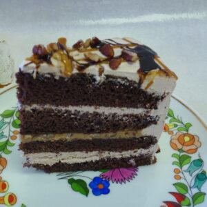 Turtle Mousse Torte - Dobo's Delights